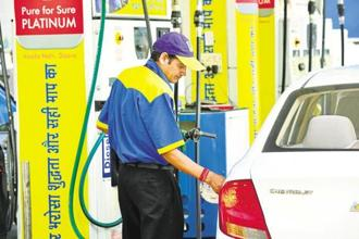Petrol and diesel prices were raised for the 11th day in succession today as the state-owned oil firms gradually passed on to the consumer the increased cost of international oil that had accumulated since a 19-day freeze was imposed just before Karnataka elections. Photo: Ramesh Pathania/Mint