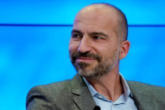 Uber CEO Dara Khosrowshahi has said the company is committed to investing further in the Indian market. Photo: Reuters