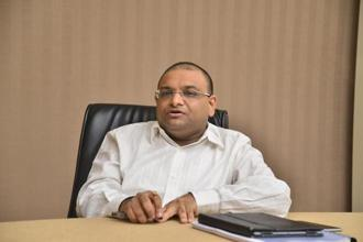 Jet Airways chief financial officer and deputy chief executive Amit Agarwal. Photo: Aniruddha Chowdhury/Mint