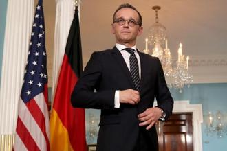 German foreign minister Heiko Maas said he told US officials that Europe remained 'very, very united' in supporting a 2015 nuclear deal with Iran. Photo: AFP
