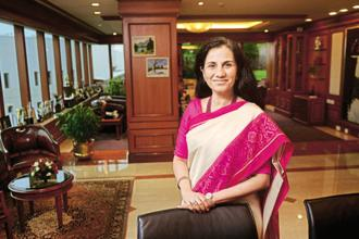 ICICI Bank CEO Chanda Kochhar. Photo: Abhijit Bhatlekar/Mint