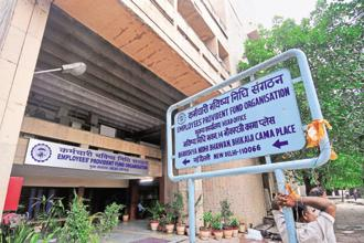The EPFO members got 8.8% in 2015-16 and 8.75% each in 2014-15 and 2013-14. Photo: Ramesh Pathania/Mint