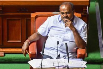 Kumaraswamy said the expansion of his Cabinet would take place once state Congress leaders get an approval from their high command. Photo: PTI