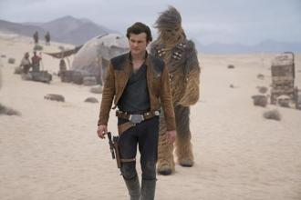 Walt Disney Co. slashed its opening-weekend forecast for Solo: A Star Wars Story as early returns from theatres signalled a deeply disappointing opening. Photo: AP