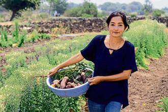 Amrita Chaudhury says farming needs passion and a love for the land. Photo: Ravindra Joshi/Mint
