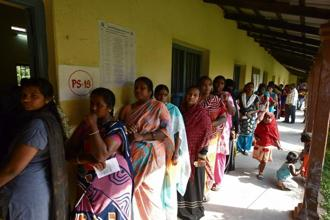 A file photo. Almost a fortnight after Karnataka went to the polls, the Raja Rajeshwari Nagar constituency—a sub-urban locality in Bengaluru—voted on Monday. Photo: HT