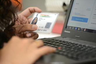 According to UIDAI more than 121 crore Indians have been enrolled for Aadhaar and it has been used for over 19 billion authentications so far. Photo: Hemant Mishra/Mint