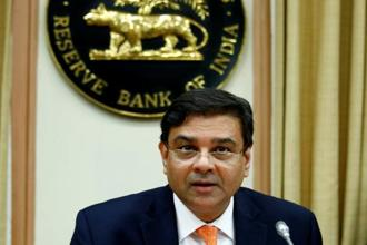 Reserve Bank of India (RBI) governor Urjit Patel. Photo: Reuters