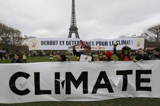 "The 2015 Paris climate change agreement committed nations to curbing greenhouse emissions and keeping the global hike in temperatures ""well below"" 2 degrees Celsius above pre-industrial times. Photo: Reuters"