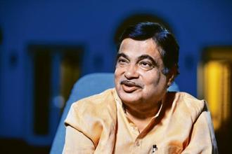 Nitin Gadkari, minister for road transport and highways. Photo: Pradeep Gaur/Mint.