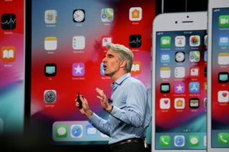 Apple's new privacy controls will also apply to tools such as like buttons and the comment sections of social networks, Apple executive Craig Federighi said at Apple WWDC 2018. Photo: Bloomberg