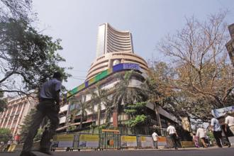 After a volatile session, BSE Sensex ended at 35,178.88, up 275.67 points, while the broader NSE Nifty closed at 10,684.65, up 91.50 points, or 0.86%. Photo: Hemant Mishra/Mint