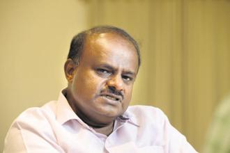 Karnataka CM H.D. Kumaraswamy is leading a delicate coalition of the Congress and the Janata Dal (Secular). Photo: Hemant Mishra/Mint