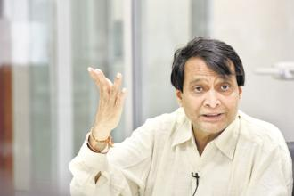 Commerce minister Suresh Prabhu said gross FDI inflows jumped 3.2% in 2017-18 to touch $62 billion, against $60.1 billion a year earlier. Photo: HT
