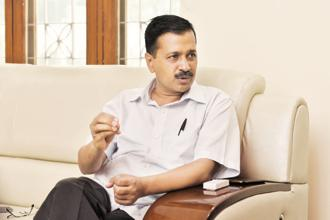 Delhi chief minister and Aam Aadmi Party (AAP) leader Arvind Kejriwal. File photo: HT
