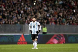 Argentina captain Lionel Messi will look to drive his team to their third World Cup win in Russia. Photo: AP