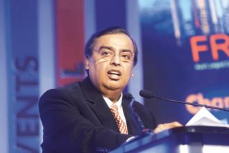 Reliance Industries chairman Mukesh Ambani. The company has total debt of about $33 billion, more than half of which is due for repayment by 2022. Photo: Abhijit Bhatlekar/Mint