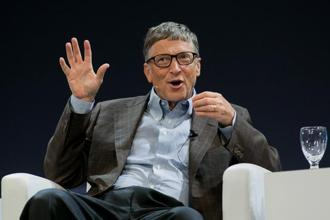 A file photo of Bill Gates. Photo: Bloomberg