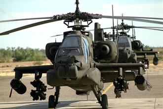 The AH-64 Apache is a multi-role combat helicopter and is used by the US Army and a number of international defence forces.