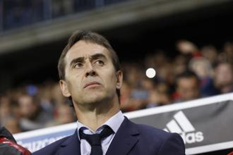 Julen Lopetegui was appointed the manager of Real Madrid on Tuesday on a three-year contract which accelerated his departure from the national set up. Photo: AP