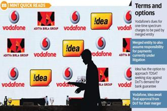 The Vodafone-Idea merger will create the world's second largest and India's largest telecom firm and is aimed at dominating a market that Reliance Jio has disrupted. Photo: Reuters