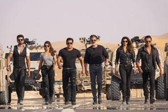 A still from Race 3, starring Salman Khan, Jacqueline Fernandez, Anil Kapoor and others.