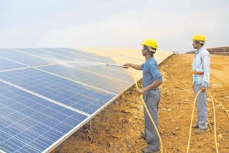 SoftBank is expected to make the investment in India's solar power plants through its Vision Fund backed by Saudi Arabia. Photo: PTI