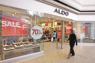 Major Brands, which retails Aldo in India, could also soon bring lingerie brands Victoria's Secret and Pink to India. Photo: Bloomberg