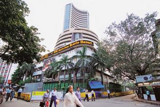 BSE Sensex and NSE's Nifty 50 closed lower on Monday. Photo: Mint
