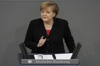 The migration issue has divided Angela Merkel's Christian Democratic Union and its coalition partner. Photo: Bloomberg