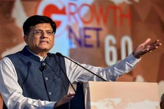 On including petroleum products under GST, Piyush Goyal said that GST council will take that decision. Photo: AP