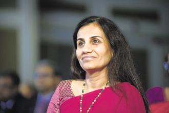 In 2016-17, ICICI Bank CEO Chanda Kochhar's salary, excluding a performance bonus, totalled Rs 5.58 crore. She got a performance bonus of Rs 2.2 crore. Photo: Abhijit Bhatlekar/Mint