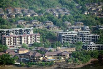 Lavasa was conceived by Hindustan Construction Company chief Ajit Gulabchand as India's first private hill city in 2000. Photo: Bloomberg