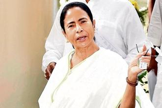 West Bengal chief minister and Trinamool Congress (TMC) chief Mamata Banerjee.