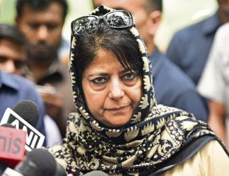 Jammu and kashmir chief minister Mehbooba Mufti. Photo: HT