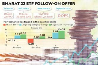 ICICI Prudential Asset Management believes the underperformance of Bharat 22 ETF presents good value for long-term investors. Graphic: Santosh Sharma/Mint