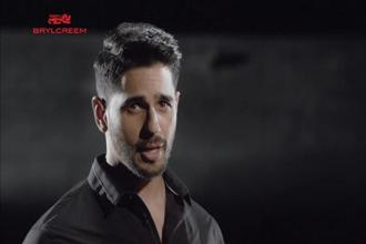 Bollywood actors Siddharth Malhotra and Varun Dhawan appear in the new Brylcreem ads. Photo: YouTube grab