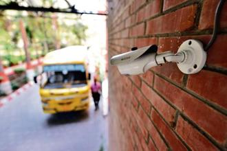 CP Plus is the largest security and surveillance solutions provider in India. Photo: Bloomberg.