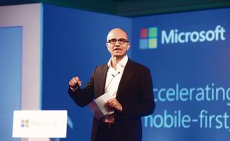 Microsoft CEO Satya Nadella. Photo: Mint