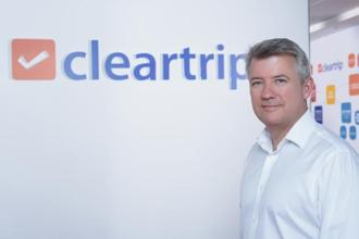Cleartrip CEO Stuart Crighton. The firm claimed that the combined entity of Cleartrip and Flyin will have a market share of over 60% in West Asia.