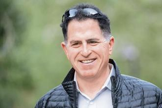 A file photo of Michael Dell, founder and CEO of Dell Technologies. Photo: Bloomberg