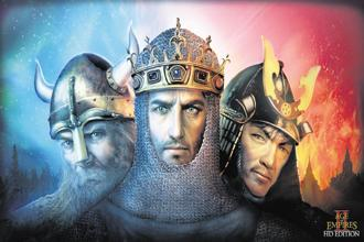 Promotional art for the 'Age Of Empires II' HD remaster. It was shut down by Microsoft in the early 2000s but last year announced it will be relaunched with a 4K edition.