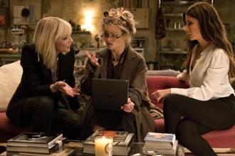 A scene from 'Ocean's 8'. Photo: Barry Wetcher