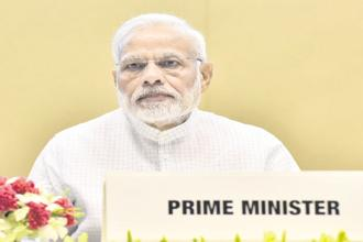 Prime Minister Narendra Modi said GST is not only the victory of integrity but it is also a celebration of honesty. File photo: HT
