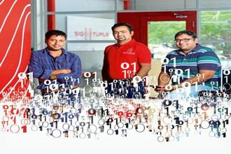 Fonded by (L-R) Apurv Anand, Rohit Kumar Pandey and Tathagato Rai Dastidar, SigTuple is helping hospitals and healthcare centres improve the speed and accuracy of blood reports.