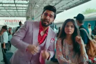 Bollywood actor Ranveer Singh in a Kotak Mahindra ad.