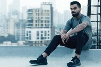 Puma and Virat Kohli have come together to encourage people to play sport.