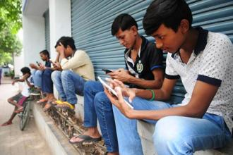 Smartphone usage has climbed in India due to increased connectivity in rural areas, coupled with cheaper data plans.