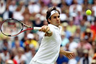 The deathly silence of tennis is all the more funereal when Roger Federer is on court. Photo: Getty Images