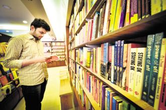 Readers of books can be classified into three types according to author Amish Tripathi. Photo: Aniruddha Chowdhury/Mint